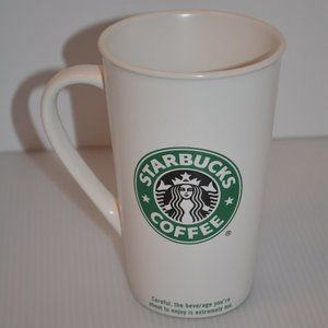 2005 Starbucks Coffee Mug Mermaid Logo Tall 16oz